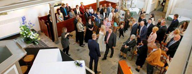 Cultuurkerkje is Huis der Gemeente (trouwlocatie)