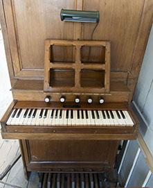 Klavier Orgel kerkje Oudesluis