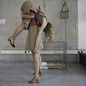 Blonde Bizons in voortstelling 'Ik begin bij jou' - Foto: Marina Slabbers